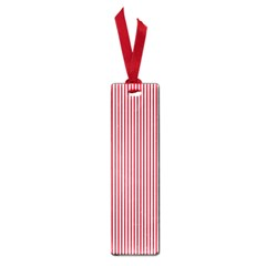 USA Flag Red and White Stripes Small Book Marks