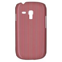 USA Flag Red and White Stripes Galaxy S3 Mini