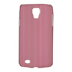 USA Flag Red and White Stripes Galaxy S4 Active