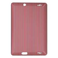 USA Flag Red and White Stripes Amazon Kindle Fire HD (2013) Hardshell Case