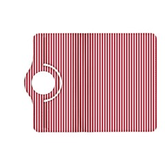 USA Flag Red and White Stripes Kindle Fire HD (2013) Flip 360 Case