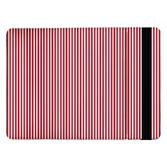 USA Flag Red and White Stripes Samsung Galaxy Tab Pro 12.2  Flip Case