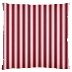 Usa Flag Red And White Stripes Standard Flano Cushion Case (two Sides)