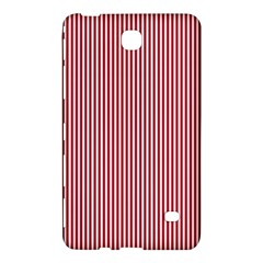 USA Flag Red and White Stripes Samsung Galaxy Tab 4 (7 ) Hardshell Case