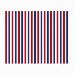 USA Flag Red White and Flag Blue Wide Stripes Small Glasses Cloth