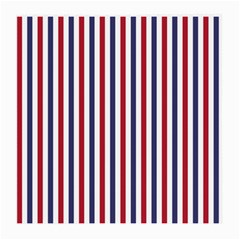 USA Flag Red White and Flag Blue Wide Stripes Medium Glasses Cloth (2-Side)