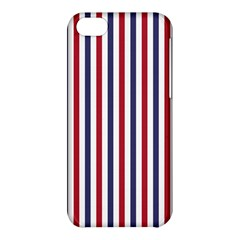USA Flag Red White and Flag Blue Wide Stripes Apple iPhone 5C Hardshell Case