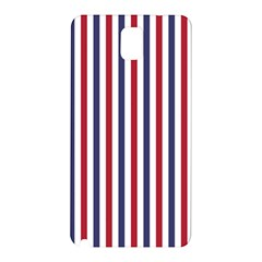 USA Flag Red White and Flag Blue Wide Stripes Samsung Galaxy Note 3 N9005 Hardshell Back Case