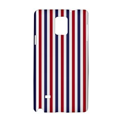 USA Flag Red White and Flag Blue Wide Stripes Samsung Galaxy Note 4 Hardshell Case