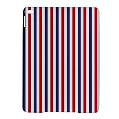 USA Flag Red White and Flag Blue Wide Stripes iPad Air 2 Hardshell Cases