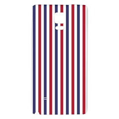 USA Flag Red White and Flag Blue Wide Stripes Galaxy Note 4 Back Case