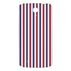 USA Flag Red White and Flag Blue Wide Stripes Samsung Galaxy Mega I9200 Hardshell Back Case