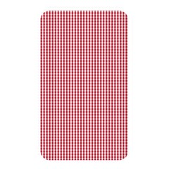 USA Flag Red and White Gingham Checked Memory Card Reader