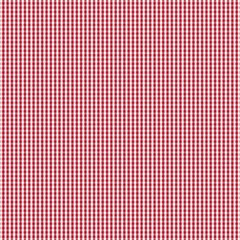 USA Flag Red and White Gingham Checked Magic Photo Cubes