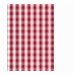 USA Flag Red and White Gingham Checked Small Garden Flag (Two Sides)