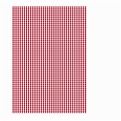 USA Flag Red and White Gingham Checked Large Garden Flag (Two Sides)