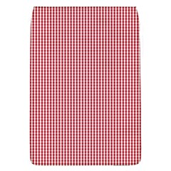 Usa Flag Red And White Gingham Checked Flap Covers (l)
