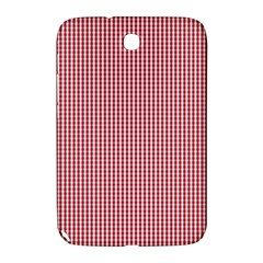 USA Flag Red and White Gingham Checked Samsung Galaxy Note 8.0 N5100 Hardshell Case