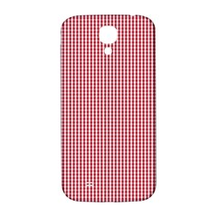 USA Flag Red and White Gingham Checked Samsung Galaxy S4 I9500/I9505  Hardshell Back Case