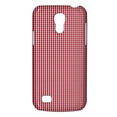 USA Flag Red and White Gingham Checked Galaxy S4 Mini
