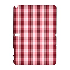USA Flag Red and White Gingham Checked Galaxy Note 1
