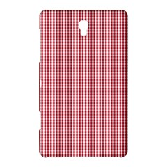 USA Flag Red and White Gingham Checked Samsung Galaxy Tab S (8.4 ) Hardshell Case