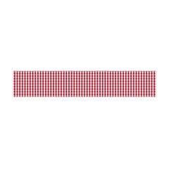 USA Flag Red and White Gingham Checked Flano Scarf (Mini)