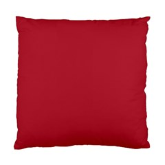 USA Flag Red Blood Red classic solid color  Standard Cushion Case (Two Sides)