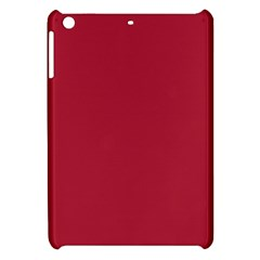 USA Flag Red Blood Red classic solid color  Apple iPad Mini Hardshell Case