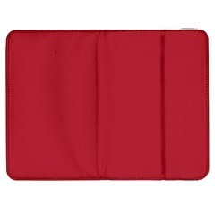 USA Flag Red Blood Red classic solid color  Samsung Galaxy Tab 7  P1000 Flip Case