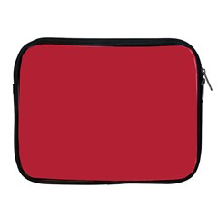 USA Flag Red Blood Red classic solid color  Apple iPad 2/3/4 Zipper Cases