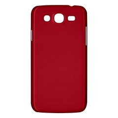 Usa Flag Red Blood Red Classic Solid Color  Samsung Galaxy Mega 5 8 I9152 Hardshell Case