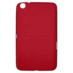 USA Flag Red Blood Red classic solid color  Samsung Galaxy Tab 3 (8 ) T3100 Hardshell Case