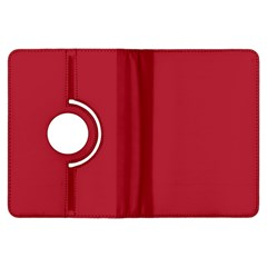 USA Flag Red Blood Red classic solid color  Kindle Fire HDX Flip 360 Case