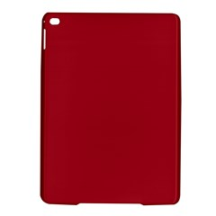 USA Flag Red Blood Red classic solid color  iPad Air 2 Hardshell Cases