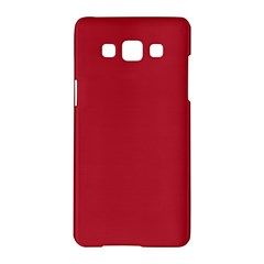 USA Flag Red Blood Red classic solid color  Samsung Galaxy A5 Hardshell Case