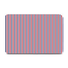 USA Flag Red and Flag Blue Narrow Thin Stripes  Plate Mats