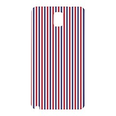 USA Flag Red and Flag Blue Narrow Thin Stripes  Samsung Galaxy Note 3 N9005 Hardshell Back Case