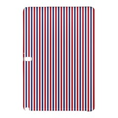 USA Flag Red and Flag Blue Narrow Thin Stripes  Samsung Galaxy Tab Pro 12.2 Hardshell Case