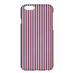 USA Flag Red and Flag Blue Narrow Thin Stripes  Apple iPhone 6 Plus/6S Plus Hardshell Case