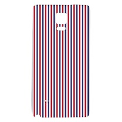 USA Flag Red and Flag Blue Narrow Thin Stripes  Galaxy Note 4 Back Case