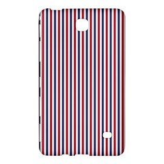 USA Flag Red and Flag Blue Narrow Thin Stripes  Samsung Galaxy Tab 4 (8 ) Hardshell Case