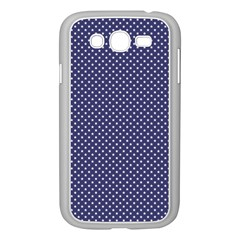 USA Flag White Stars on Flag Blue Samsung Galaxy Grand DUOS I9082 Case (White)