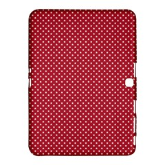 USA Flag White Stars on American Flag Red Samsung Galaxy Tab 4 (10.1 ) Hardshell Case