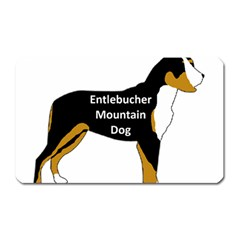 Entlebucher Mt Dog Name Silo Color Magnet (Rectangular)