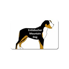 Entlebucher Mt Dog Name Silo Color Magnet (Name Card)