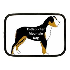 Entlebucher Mt Dog Name Silo Color Netbook Case (Medium)