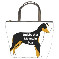 Entlebucher Mt Dog Name Silo Color Bucket Bags