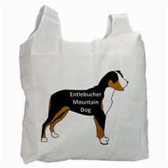 Entlebucher Mt Dog Name Silo Color Recycle Bag (One Side)