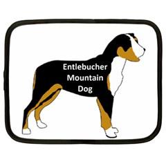 Entlebucher Mt Dog Name Silo Color Netbook Case (XXL)